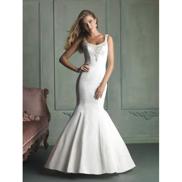 2015 SexyKeyhole назад 2014 винтаж свадебное платье русалка аппликации бисе